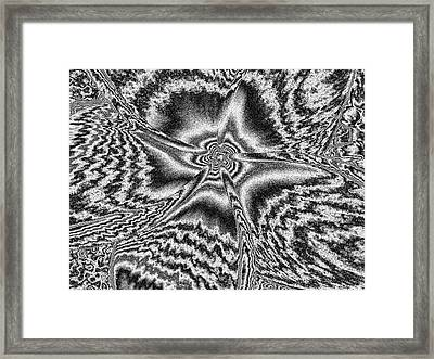 Dazed And Confused Framed Print by Rebecca Flaig
