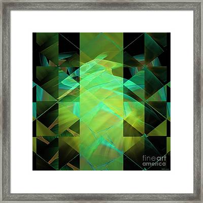 Dazzle Dunes Framed Print by Elizabeth McTaggart