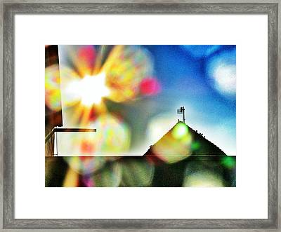 Dazzled By The Sun Framed Print by Marianna Mills