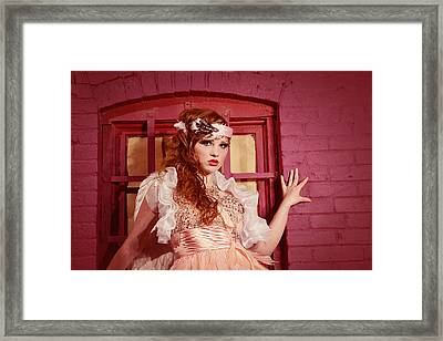 Dazzling Earth Angel  Framed Print by Kriss Russell