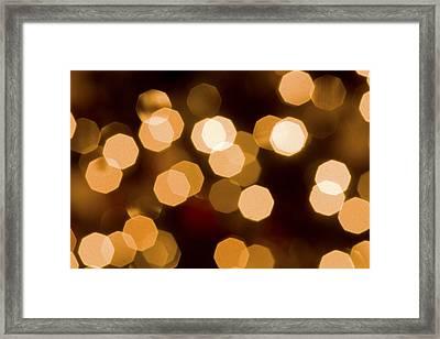 Dazzling Lights Framed Print by Rich Franco