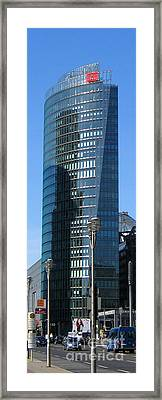 Framed Print featuring the photograph Db Tower by Art Photography