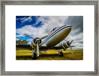 Dc 3 Pan American Airways  Framed Print by Puget  Exposure