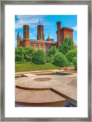 Dc Castle Framed Print by Dado Molina