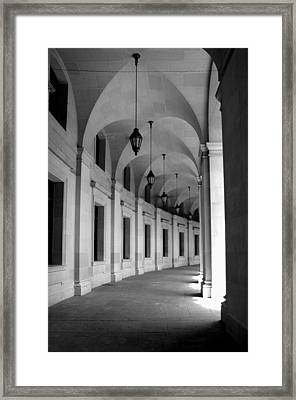 Dc Hall Framed Print by Bryan Knowles