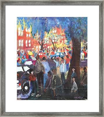 D.c. Market Framed Print