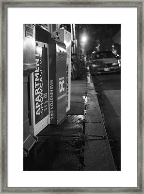 Dc News Framed Print by Michael Williams