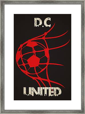 Dc United Goal Framed Print by Joe Hamilton