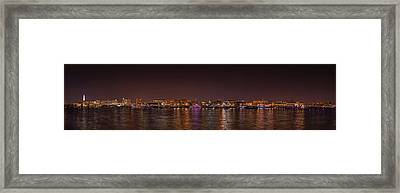 Dc Waterfront Framed Print by Metro DC Photography