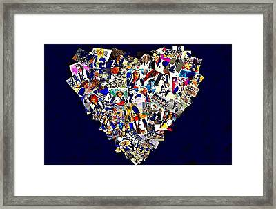 Dcc Sisters Framed Print by Carrie OBrien Sibley