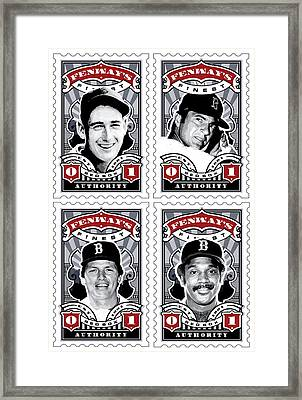 Dcla Fenway's Finest Combo Stamp Art Framed Print