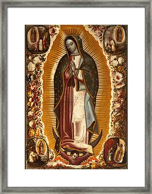 de Arellano Virgin Framed Print