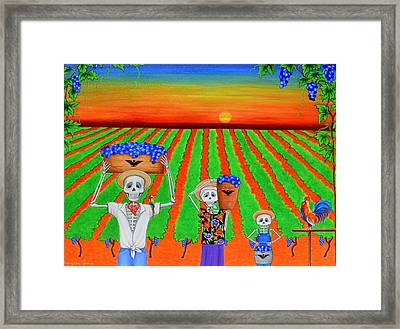 De Colores Framed Print