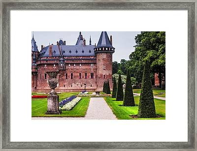 De Haar Castle 2. Utrecht. Netherlands Framed Print by Jenny Rainbow