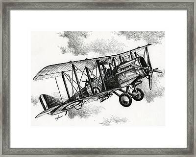 De Havilland Airco Dh.4 Framed Print