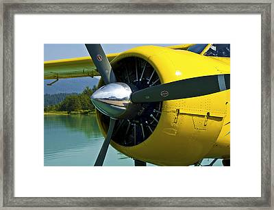 de havilland Beaver Framed Print