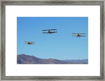 De Havilland Dh 82a Tiger Moth Framed Print