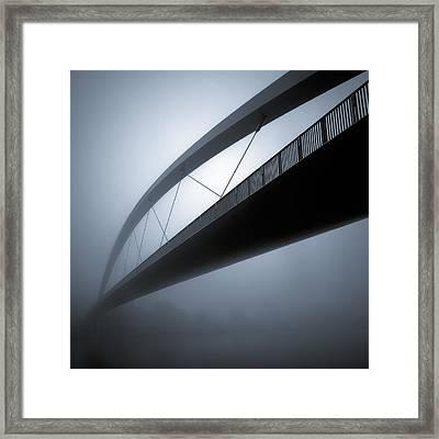 De Hoge Brug Framed Print by Dave Bowman