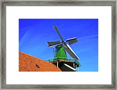 Framed Print featuring the photograph De Huisman Spice Mill by Jonah  Anderson