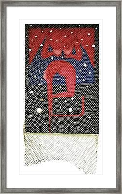 Framed Print featuring the painting De Ja Vu_sold by Fei A