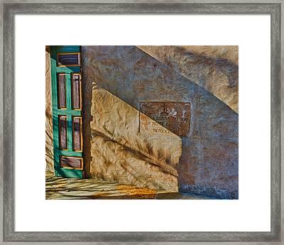De Monte Carmelo Framed Print
