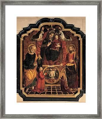 De Passeri De Passeris Andrea, Madonna Framed Print