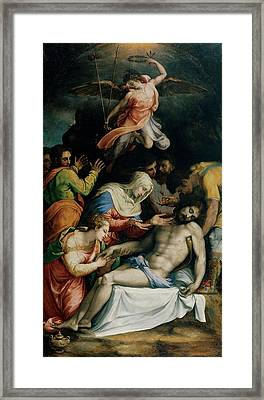 De Rossi Francesco Know As Cecchino Framed Print by Everett