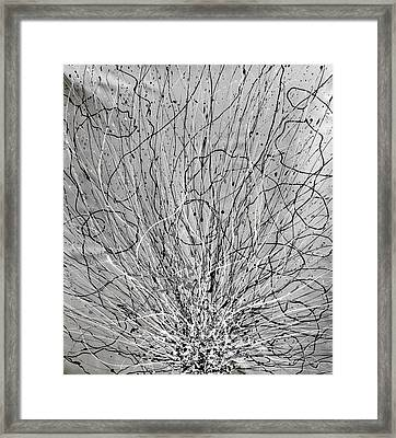 De-tangle Framed Print