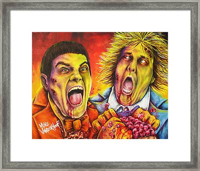 Dead And Deader By Mike Vanderhoof Framed Print