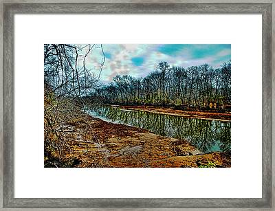 Framed Print featuring the photograph Dead Calm by Robert Culver