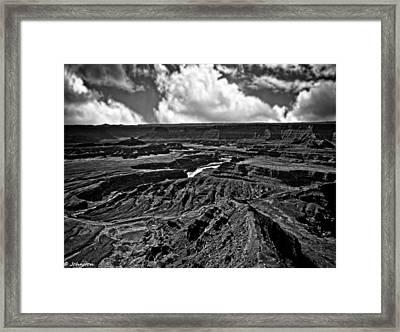 Dead Horse Point Utah Framed Print by Bob and Nadine Johnston