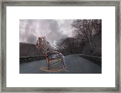 Dead Man's Curve Framed Print by Betsy Knapp