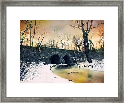 Dead Of Winter Framed Print by Jessica Jenney