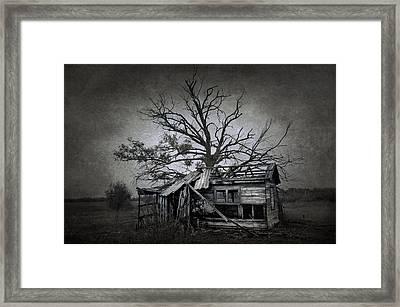 Dead Place Framed Print