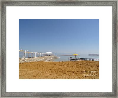 Dead Sea 1 Framed Print