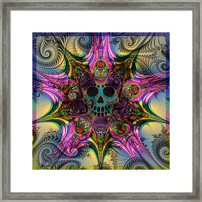 Dead Star Framed Print