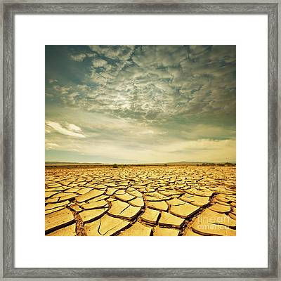 Dead Valley Framed Print by Boon Mee