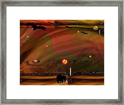 Dead Valley Year 5000  Framed Print by Pepita Selles