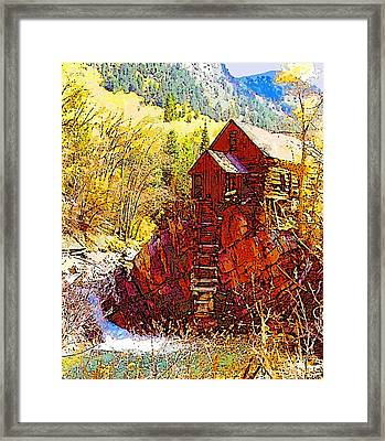 Deadhorse Mill Framed Print
