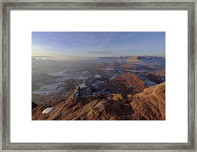 Deadhorse Point Framed Print by Chad Dutson