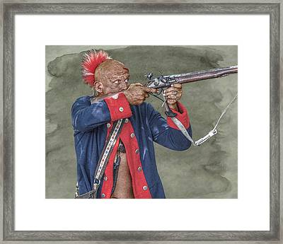 Deadly Accurate  Framed Print by Randy Steele