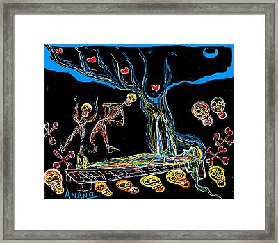Deadly Dream Framed Print by Anand Swaroop Manchiraju
