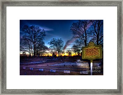 Deadly Silence    Framed Print