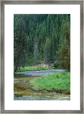 Deadwood River Framed Print