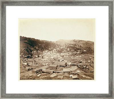 Deadwood, S.d. From Mcgovern Hill Framed Print