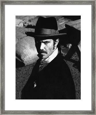 Deadwood - Seth Bullock Framed Print