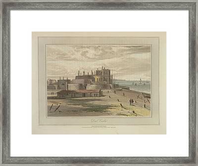 Deal Castle Framed Print