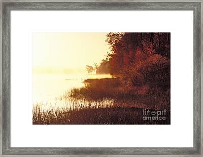 Deam Lake Sunrise - Fs000480a Framed Print