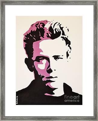 Dean Framed Print
