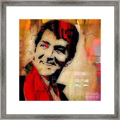 Dean Martin Collection Framed Print